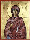 24 أيلول تذكار القدّيسة تقلا أولى الشهيدات