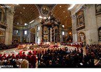 البابا فرنسيس يحتفل بالقداس الإلهي بمناسبة عيد الدنح