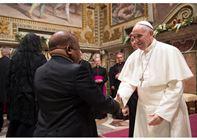 خطاب البابا إلى أعضاء السلك الدبلوماسي